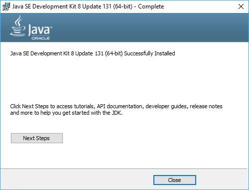 Установка Java JDK (Java Development Kit) в Windows 10