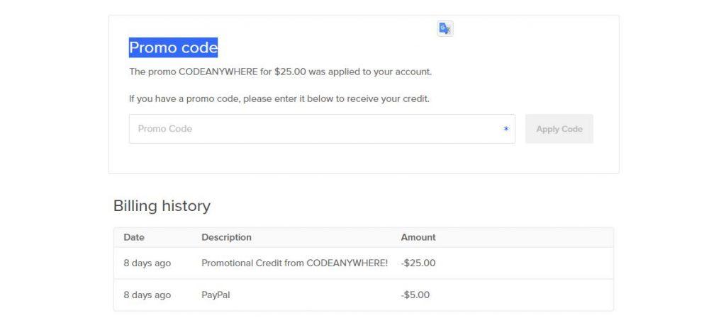 DigitalOcean - как зарегистрироваться и получить $30  на счёт