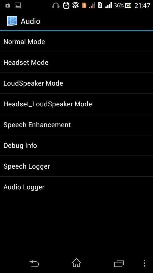 Engineering Mode Audio
