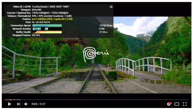 Как решить проблему высокой загрузки процессора при просмотре HD видео на YouTube?