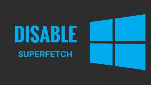 windows10-superfetch