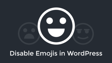Photo of Remove WordPress emoji code in your pages head without plugin