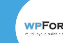 Photo of wpForo — Error 2252   Please contact to forum admin.